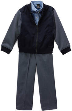 Sean John Blue Bomber Jacket Set - Boys