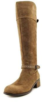 Marc Fisher Womens Tanker Leather Almond Toe Knee High Fashion Boots Fashion ....