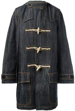 Faith Connexion denim duffle coat