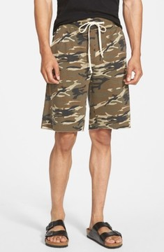 Alternative Men's 'Victory' Camo French Terry Knit Cutoff Shorts