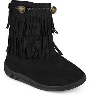 Journee Collection Girls Anza Toddler & Youth Western Boot