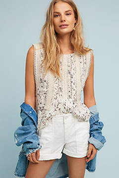 Anthropologie Chino by Embroidered Wanderer Utility Shorts