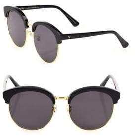 Gentle Monster Deborah 59MM Mirrored Oversized Round Sunglasses
