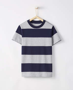 Hanna Andersson Sueded Jersey Striped Tee