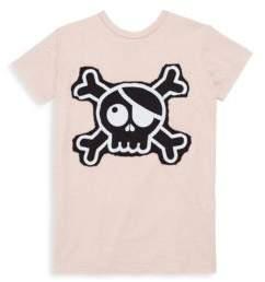Nununu Baby's Cotton Skull Patch T-Shirt