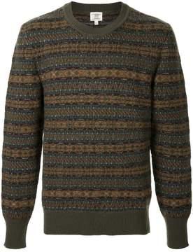 Kent & Curwen pattern knit jumper