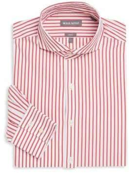 Michael Bastian Striped Long-Sleeve Dress Shirt