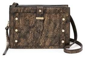 Botkier New York Embossed Leather Crossbody Bag