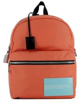 Calvin Klein Men's Orange Fabric Backpack.
