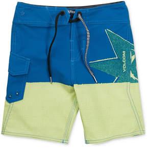 Volcom Lido Block Swimsuit, Little Boys