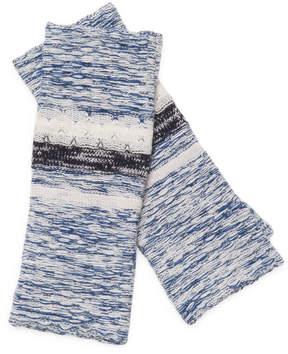 Portolano Women's Knitted Striped Gloves