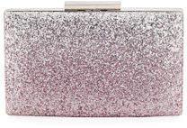 Neiman Marcus Ombre Glitter Evening Box Clutch Bag
