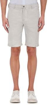 Massimo Alba Men's Slub-Weave Linen-Cotton Shorts