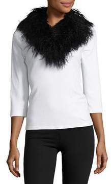 Adrienne Landau Clip Fur Stole