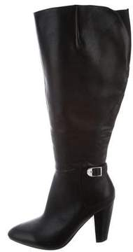 Marc Fisher Leather Knee-High Boots