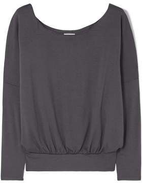 Eberjey Umma Stretch-modal Jersey Top - Charcoal