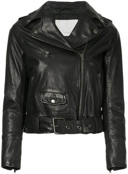 ESTNATION cropped biker jacker