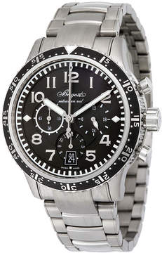 Breguet Type XXI Transatlantique Flyback Automatic Black Dial Titanium Men's Watch 3810TIH2TZ9