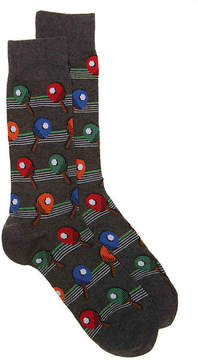 Hot Sox Men's Ping Pong Dress Socks