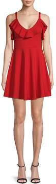 Susana Monaco Women's Ruffled Sleeveless Dress