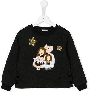 Dolce & Gabbana Family patch jumper