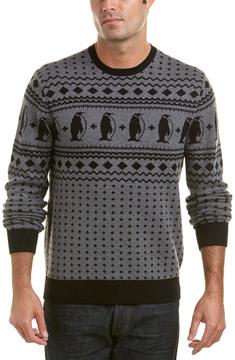 Michael Bastian Gray Label Wool-Blend Crewneck Sweater