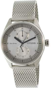 Citizen Metropolitan BU3011-83H Silver Stainless-Steel Japanese Quartz Dress Watch