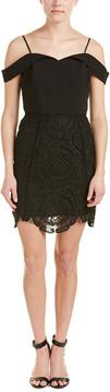 Adelyn Rae Cold-Shoulder Sheath Dress