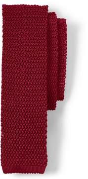 Lands' End Lands'end Men's Classic Silk Knit Necktie