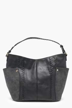 boohoo Whipstitch & Pocket Day Bag