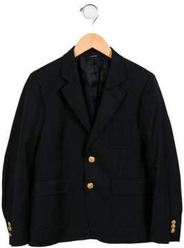 Brooks Brothers Boys' Wool Notch-Lapel Blazer