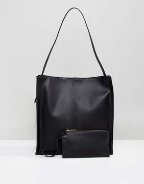Asos Solo Strap Pouch Shopper Bag