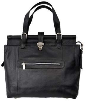 Piel Leather DOUBLE DOWEL ROD LEATHER BAG