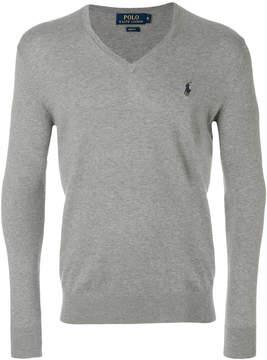Polo Ralph Lauren v-neck logo sweater