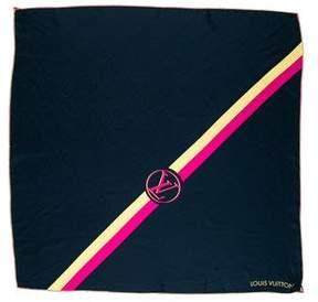 Louis Vuitton Essential V Silk Scarf