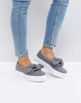 Asos DENISE Bow Sneakers