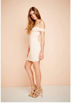 GUESS Belladonna Off-the-Shoulder Dress