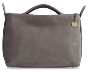 Skagen Mikkeline Leather Satchel - Grey