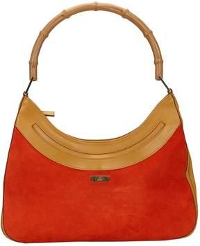 Gucci Bamboo handbag - ORANGE - STYLE