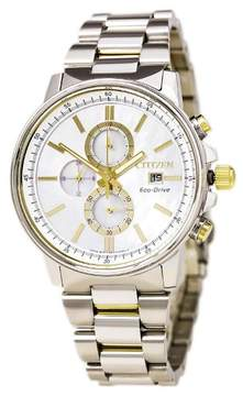 Citizen Women's FB3004-58D Nighthawk Eco-Drive Stainless Chronograph Dive Watch