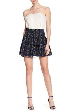 Cynthia Rowley Printed Tiered Skirt