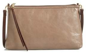 Hobo 'Darcy' Leather Crossbody Bag - Grey