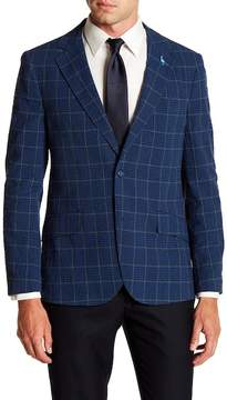 Tailorbyrd Windowpane Notch Lapel Sport Coat