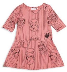 Mini Rodini Baby's, Toddler's, Little Girl's & Girl's Fox Family Dress