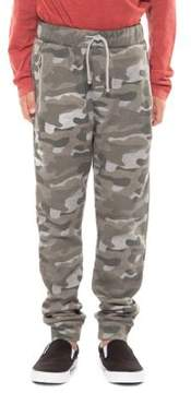 Dex Boy's Camo-Print Jogger Pants