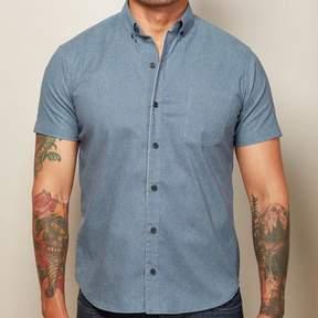 Blade + Blue Pale Blue Swirl Print Shirt - ZACKY