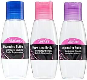 Salon Care Clear Dispensing Travel Bottle