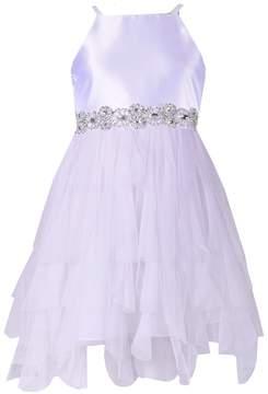 Bonnie Jean Girls 7-16 Satin Cardigan & Cascade Dress Set
