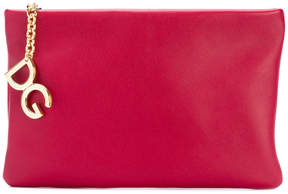 Dolce & Gabbana Cleo clutch pouch - RED - STYLE