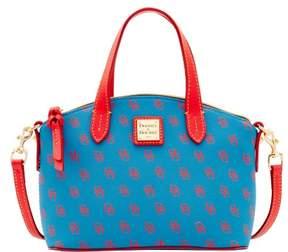 Dooney & Bourke Gretta Ruby Top Handle Bag - BLUE RED - STYLE